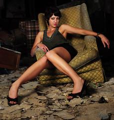 [フリー画像] 人物, 女性, ショートヘア, 201009241500