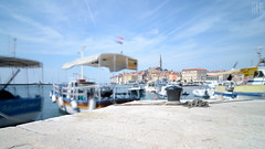 Rovinj - Croatia (gregor H) Tags: longexposure summer haven port geotagged boat seaside warm bright south croatia rovinj hrv kroatien waver istarska hoyand400 brightsummer geo:lat=4508040065 geo:lon=1363560052