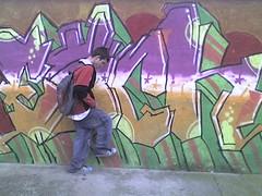 my first graffiti (Each173) Tags: each