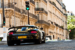 "*EXPLORE*   Porsche Gemballa Mirage GT ""Gold Edition"" (Murphy Photography) Tags: street city summer paris france dead gold george amazing europe plate v porsche mirage gt tuning edition samuel supercar uwe 2010 gemballa etos canoneos50d canon2870200is"