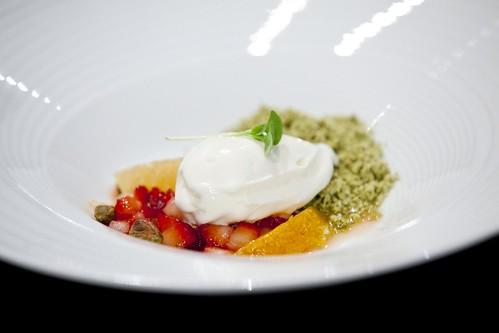 Pre-dessert by Chef Joseluis Flores of De Rodriguez, Miami, FL