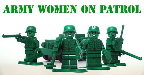 Army Women On Patrol