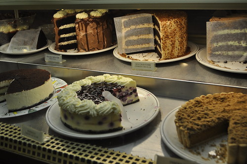 Cake Selection at Afterthoughts in Abbotsford