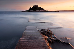 "Evening at St.Michael's Mount - After what must be the busiest tourist season ever for Cornwall, Mounts Bay has returned to some peace and quiet, I even found a place to park my car in Marazion!   Please kindly <a href=""http://bighugelabs.com/onblack.php?id=5021545616&size=large"" rel=""nofollow"">View On Black</a>"