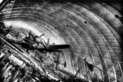 Main hangar (reprocessed)