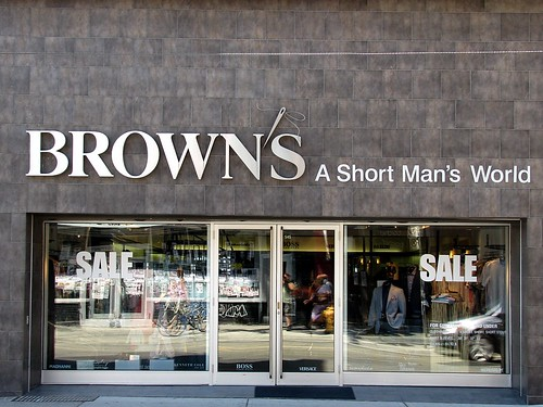 "Downtown Toronto - ""Brown's, A Short Man's World"""
