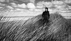 May (mahonyweb) Tags: uk greatbritain portrait bw beach wales sand dunes may ayr sanddunes lightroom talacre northwales canon1740l pointofayr talacrebeach lightroom3 canon1dsmarkiii seairishsea