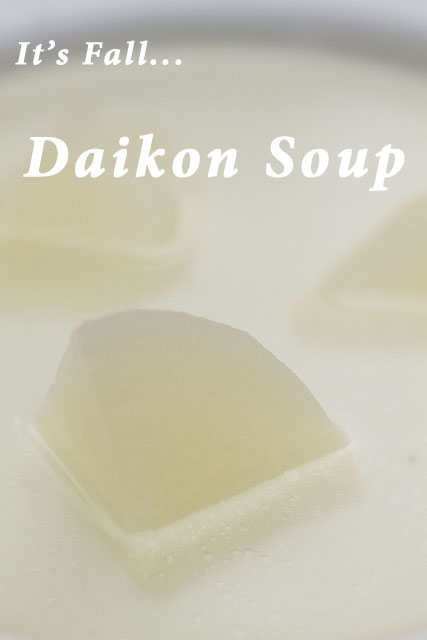 Fall Daikon Soup