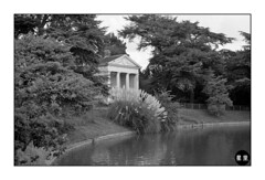 The Temple at Gunnersbury Park (Hans ter Horst Photography) Tags: london 50mm 2010 ilfordfp4 film:brand=ilford justpentax film:iso=80 film:name=ilfordfp4125 filmdev:recipe=6279