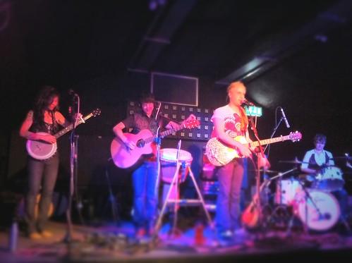 Tiltshift: Girlyman gig, Bristol
