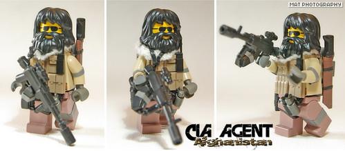 CIA AGENT AK Suppressed