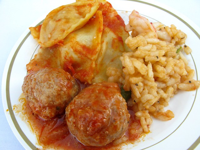 Angelini Osteria pastas and meatballs by Caroline on Crack