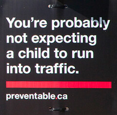 Canadians Using Small Children As Speed Bumps ...