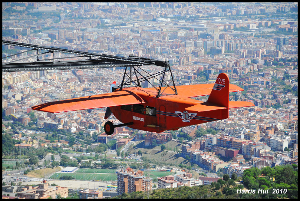 Avi? (The Red Plane 1928) - Tibidabo Barcelona N4005e