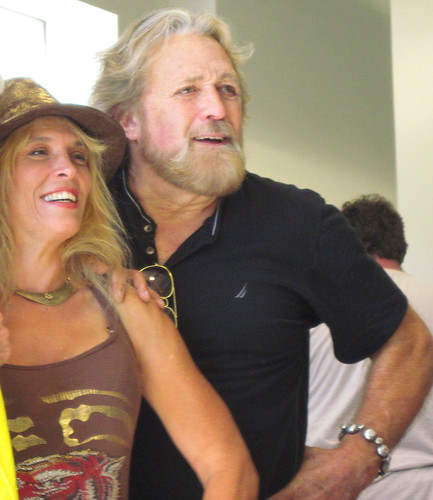 dan haggerty home. Dan Haggerty Posing with a Fan