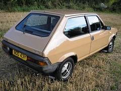 NOVEMBER 1982 FIAT STRADA 1301cc 65 CL BDD43Y (Midlands Vehicle Photographer.) Tags: november 1982 strada fiat cl 65 1301cc bdd43y