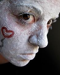 wait for love (rAnita nOe) Tags: portrait selfportrait face self eyes heart retrato cara ojos corazon ranitanoe mfimc