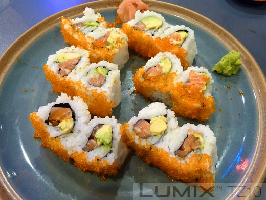 Sushi House Ben-K - Inside out rolls