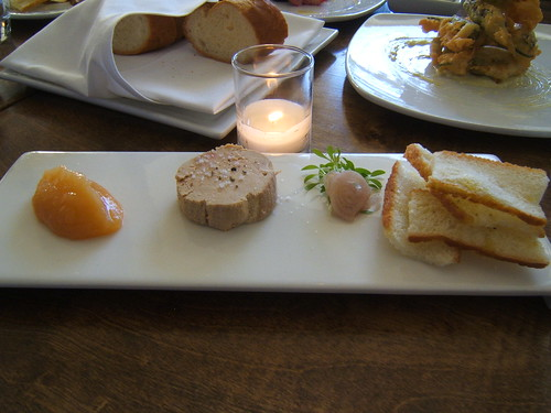 Square One - foie gras torchon with quince