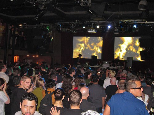 Crowd during Monolake