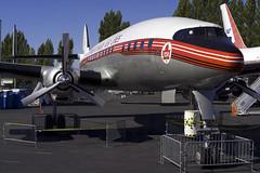 KBFI TCA L-1049H CF-TGE (wings777) Tags: seattle super museumofflight aca preserved ac airlines lockheed tca transcanada constellation boeingfield aircanada bfi mof kbfi l1049