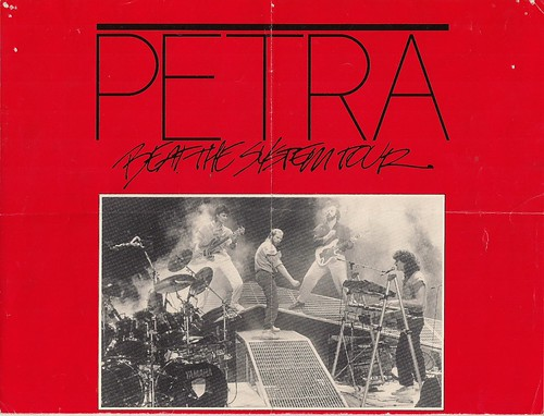 10/21/85 Petra/Morgan Cryer @ Duluth, MN (Poster - Top)