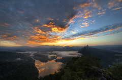 ... flaming Tabur ... (liewwk - www.liewwkphoto.com) Tags: above morning light sun sunlight last sunrise canon golden gate day dam or magic horizon first sigma hour rise  magichour klang goldenhour bukit 1224 ascent tabur   newvision bukittabur    5dmark2  canon5dm2 liewwk httpliewwkmacroblogspotcom wwwliewwkphotocom  peregrino27newvision