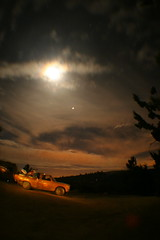 at night! (Shutter Theory) Tags: longexposure moon clouds nightshot atnight datsun slowshutterspeed 620 bulletside pl620