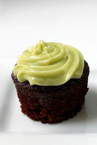 a lone cupcake
