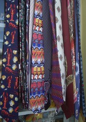 cravates pour les hommes / Neck ties for men (Beatnik Kitty) Tags: vintage ties neck unusual cravates