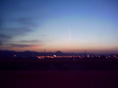 Llobregat II (brighton_jenny) Tags: road sunset pinkclouds llobregat