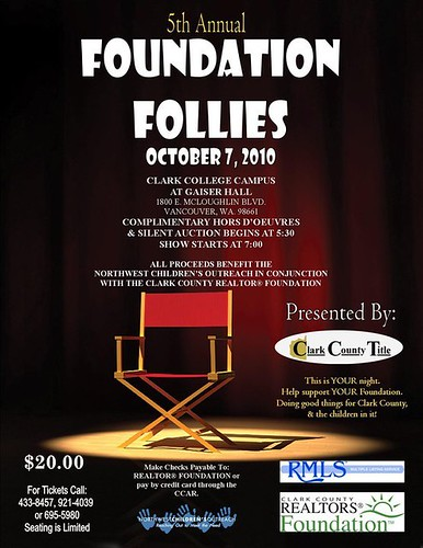 5th Annual Foundation Follies in Vancouver Washington