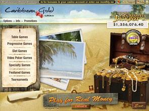 Caribbean Gold Casino Lobby