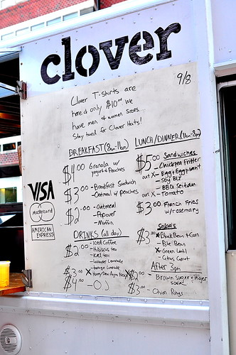 Clover Food Lab - Cambridge