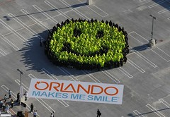 Orlando Breaks Guinness World Record (Visit Orlando - VisitOrlando.com) Tags: orlandoflorida guinnessworldrecord worldsmileday amwaycenter