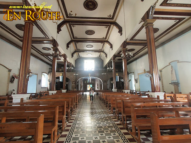 Our Lady of Namacpacan Church Interiors