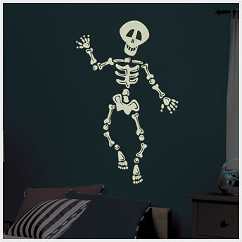 skeleton kids decal 1