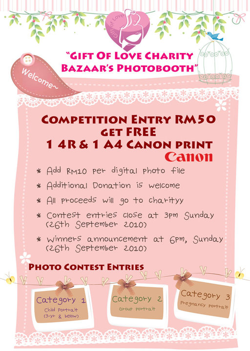 Our Photobooth Contest details