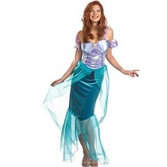 Ariel Deluxe Adult L Fairytales Halloween Costume