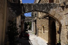 Wandering about in Rhodes (Saumil U. Shah) Tags: street city history monument architecture island town ancient europe arch fort citadel arches medieval cobbled cobblestones greece historical walls ottoman rodos rhodes turkish byzantine shah dodecanese saumil dodekanisa dodeknisa saumilshah