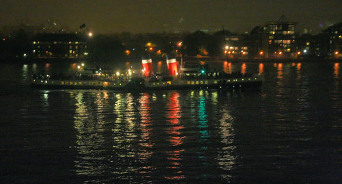 PS Waverley returning to London