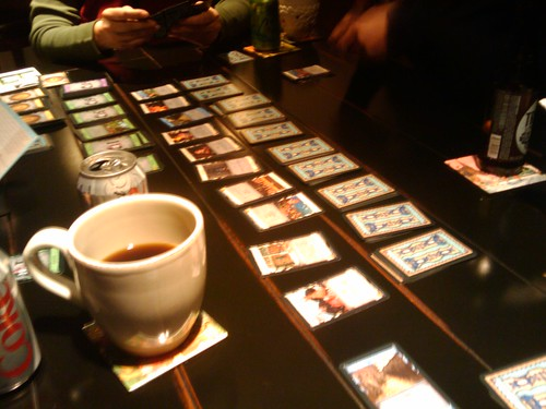 dominion and lots of caffeinated beverages