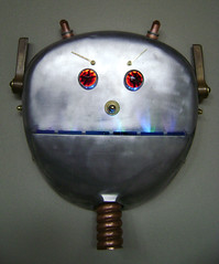 Mack : Assemblage Robot Art (Talbotics) Tags: sculpture art robot nightlights faces mask handmade assemblage character led robots masks recycledart nightlight leds foundart robotics bot nitelite robotic floorpolisher assemblageart nitelites robothead junkart nitelight foundobjectart robotlights robotart nightlites robotsculpture assemblagerobot avitzur foundobjectrobot foundartrobot recycledartrobot foundobjectartrobot talbotics polishaire talavitzur