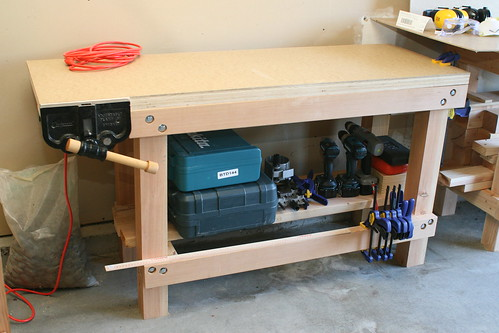 woodworking vise mounting