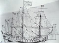8)Zeven Provincien (with sails)