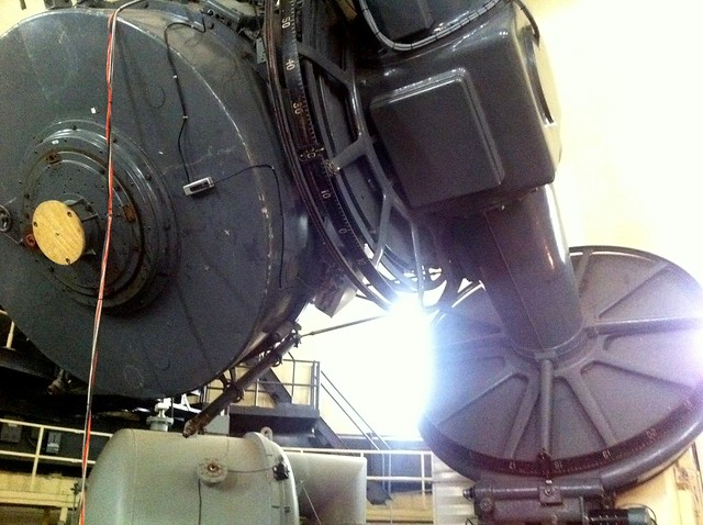 "The 82"" telescope"