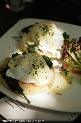 eM by the River - Eggs Florentine