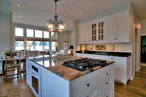 Custom Kitchen Island with Range by Sitka Projects LLC, on Flickr