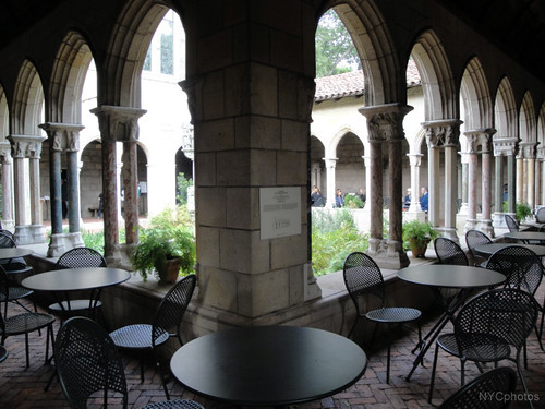 Garden inside the Cloisters Museum