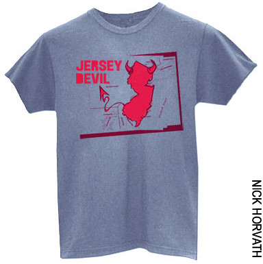 Jersey Devil T-Shirt by Nick Horvath